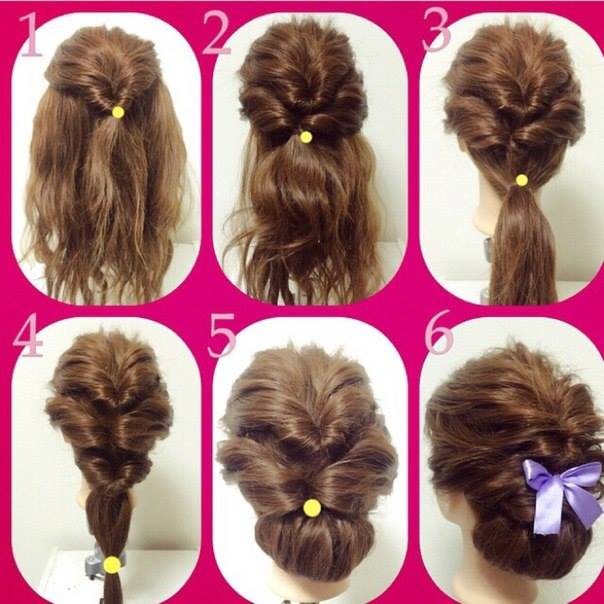 Popular Hairstyles Updos For Medium Length Hair