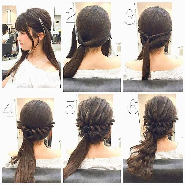 Awesome Fashionable Braid Hairstyle For Shoulder Length Hair Hairstyle Inspiration Daily Dogsangcom