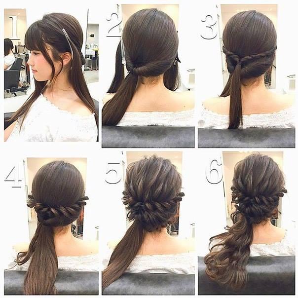 Cool Fashionable Braid Hairstyle For Shoulder Length Hair Short Hairstyles Gunalazisus