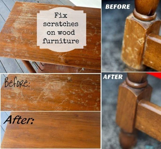 How To Remove White Water Stains On Wood