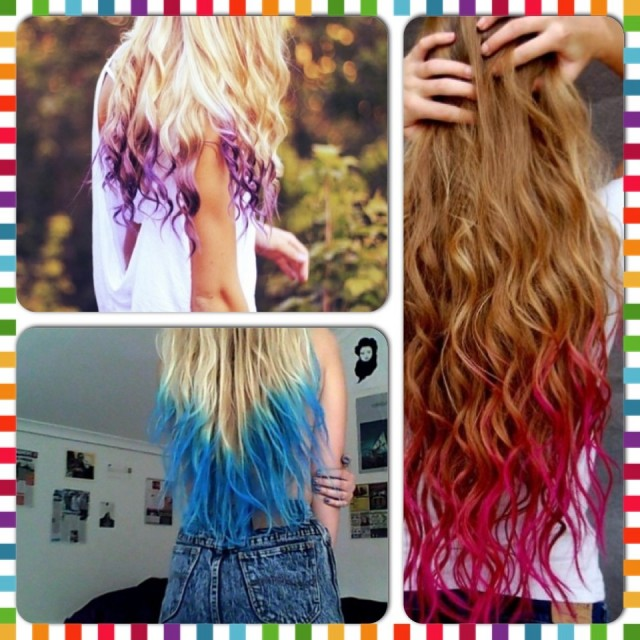 Make Hair Dye With Kool-Aid And Hair Conditioner
