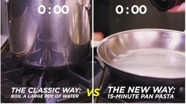 This New 15-Minute Method Will Change the Way You Make Pasta