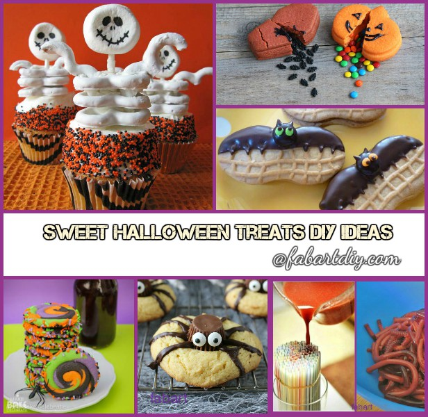 10 Fun and Sweet Halloween Treats DIY Ideas for Kids Halloween Party