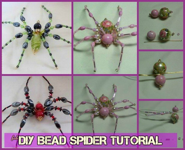 DIY Bead Spider tutorial-Video