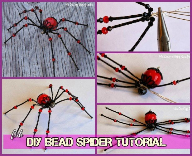 DIY Fabulous Bead Spider tutorial