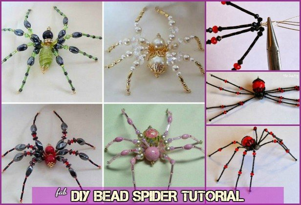 DIY Bead Spider tutorial-Video