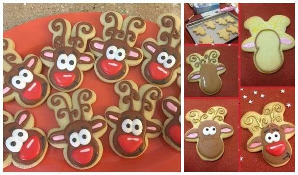 Diy Cute Reindeer Cookies Recipe For Christmas Treat Video