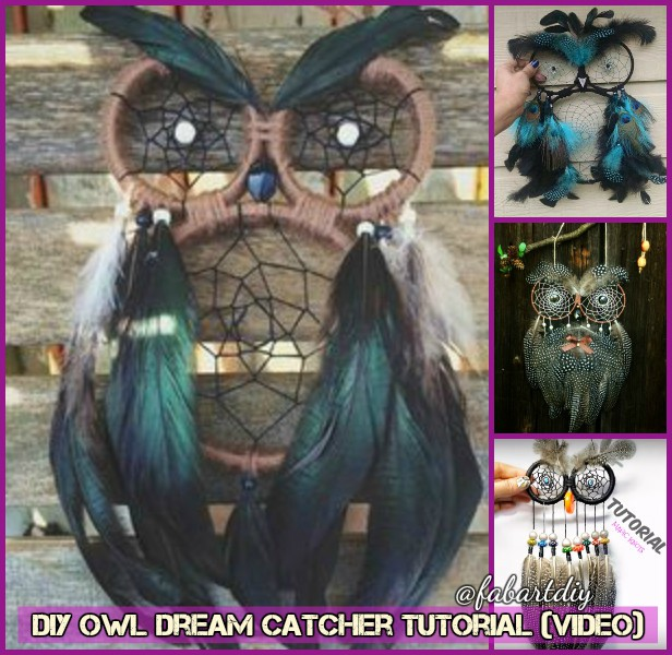 DIY Owl Dream Catcher Tutorial (Video)