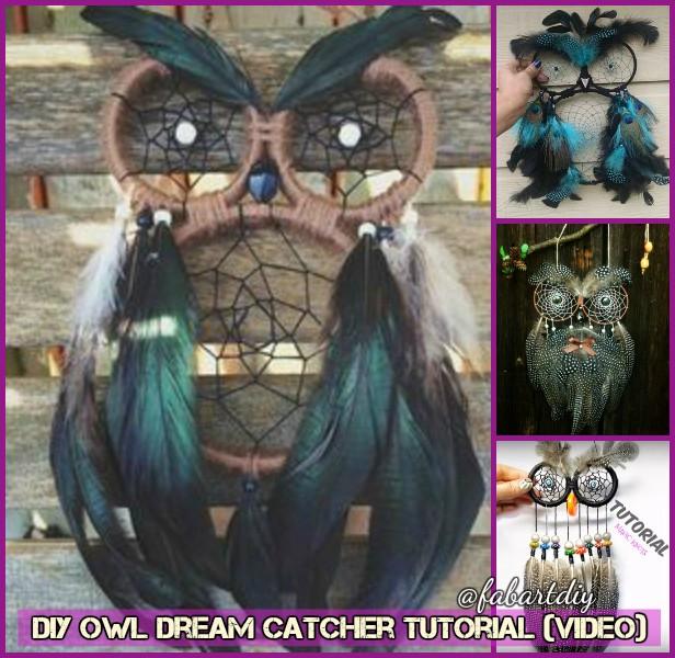 DIY Owl Dream Catcher Tutorial (Video)