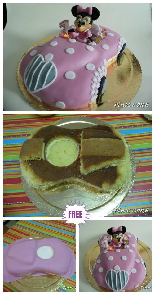 Fab Minnie Mouse Car Cake Design DIY Tutorial