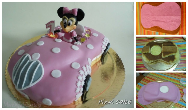 Fab Minnie Mouse Car Cake Design DIY Tutorial