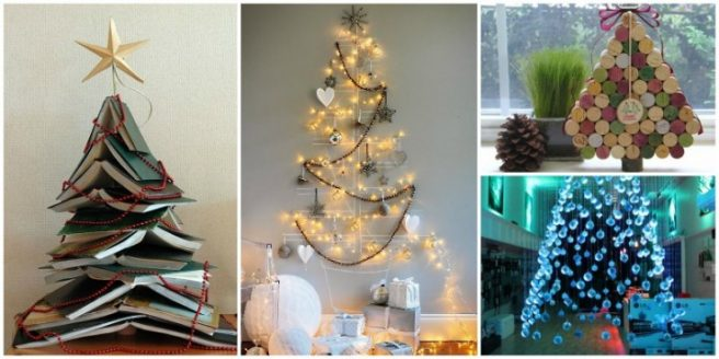 DIY Christmas Tree Ideas and Projects for Christmas Decoration