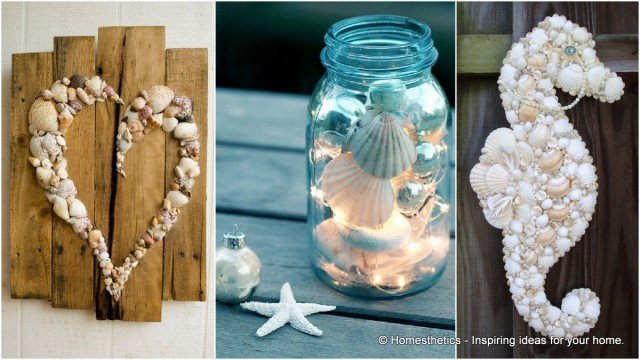 21 Beautiful Sea Shell Projects to Consider On Your Next Walk By the Beach