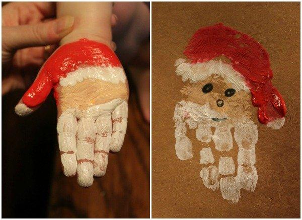 DIY-Christmas-Hand-Print-and-Foot-Print-