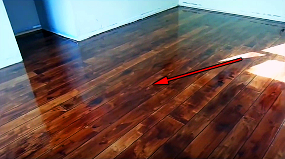 Diy Decorative Concrete Simulated Hardwood Floor