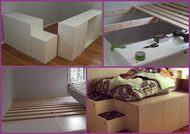 IKEA Platform Bed DIY