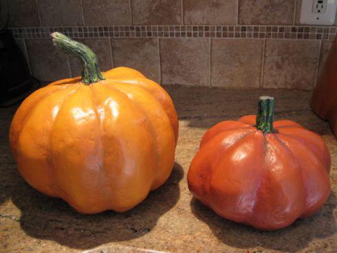 Diy Papier Mache Pumpkins Tutorials