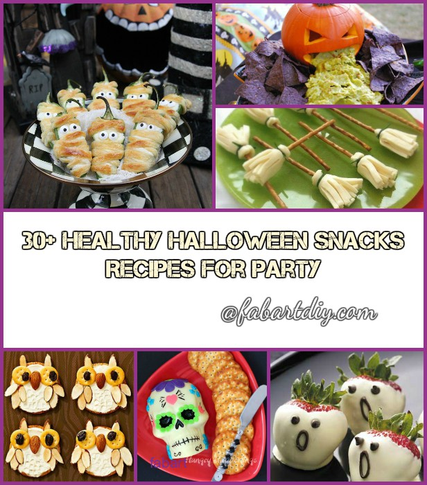 30 Healthy Halloween Snacks Recipes for Party