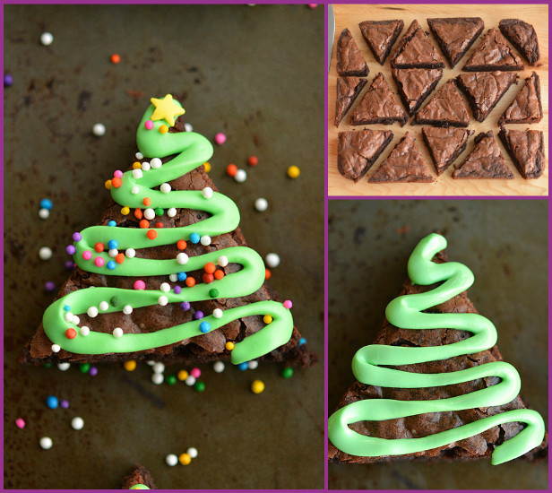 DIY Christmas Tree Brownie Recipe