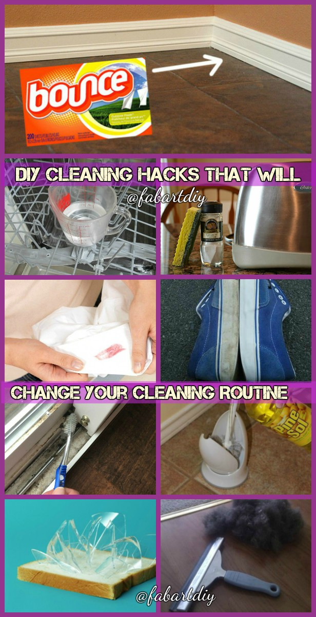 16 DIY Cleaning Hacks That Will Change Your Cleaning Routine
