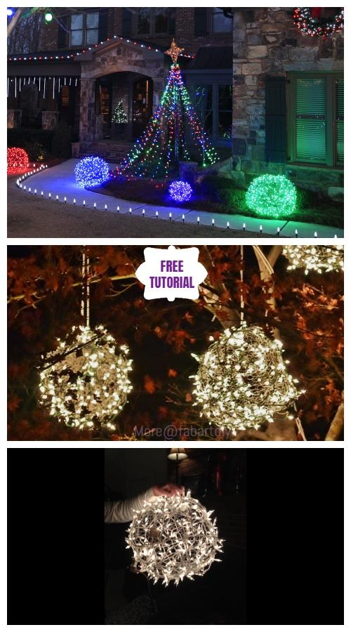 Diy Giant Wire Christmas Light