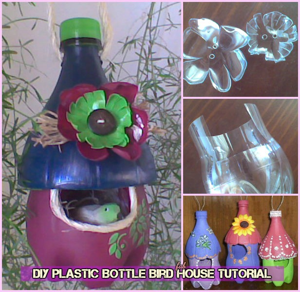 DIY Plastic Bottle Bird House Tutorial-Video