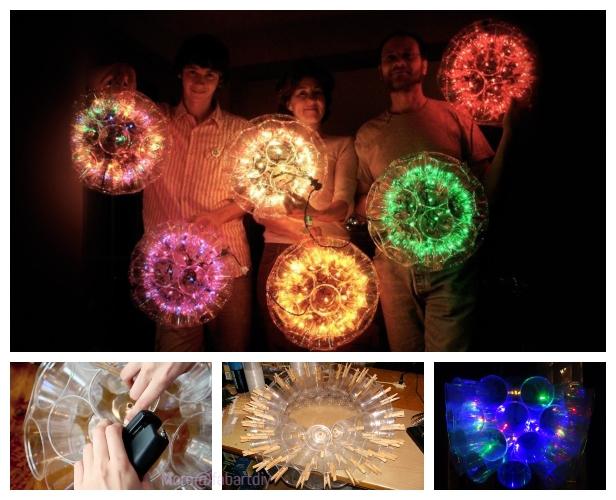 DIY Plastic Cup Sparkle Ball Tutorial - Video