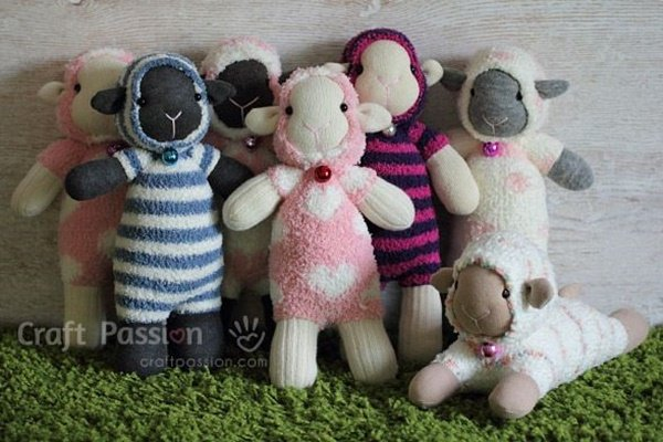 20 Adorable Sock Toys DIY Tutorials You Will Love to Make