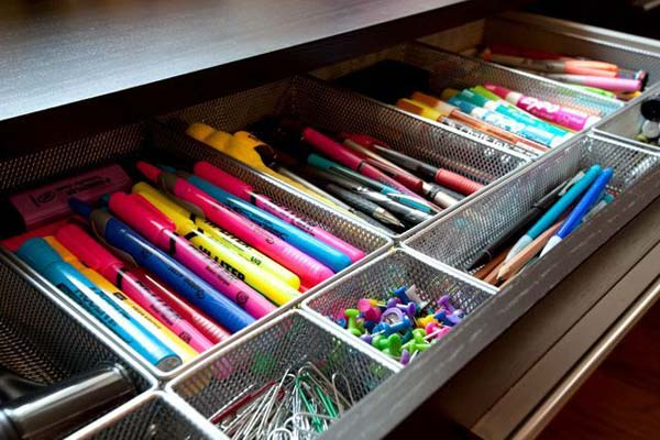 20+ Clever DIY Ways and Hacks to Organize Your Office In No Time