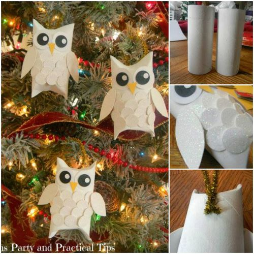 20 Toilet Paper Roll Christmas DIY Craft Projects For A Wonderful Holiday