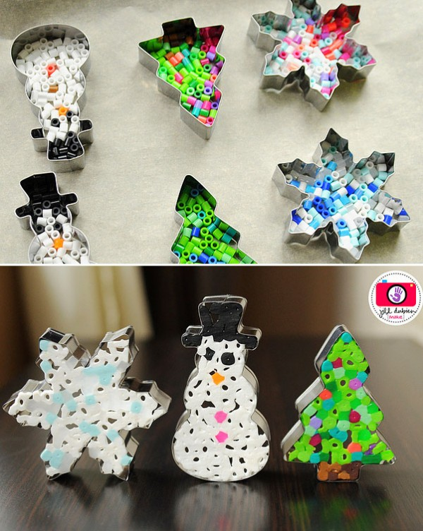 Charmant Creative Christmas Ornaments DIY From Cookie Cutters