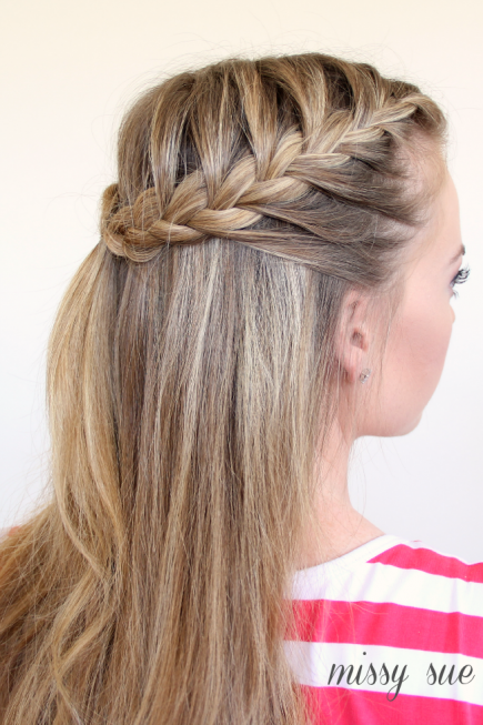 How to Make French Braid Hairstyle Tutorials