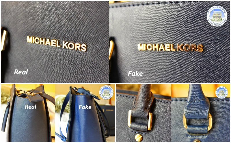 c5e4963b81db How to Spot A Fake Vs Real Michael Kors Handbag