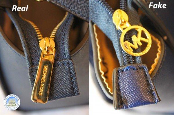 How to Spot A Fake Vs Real Michael Kors Handbag