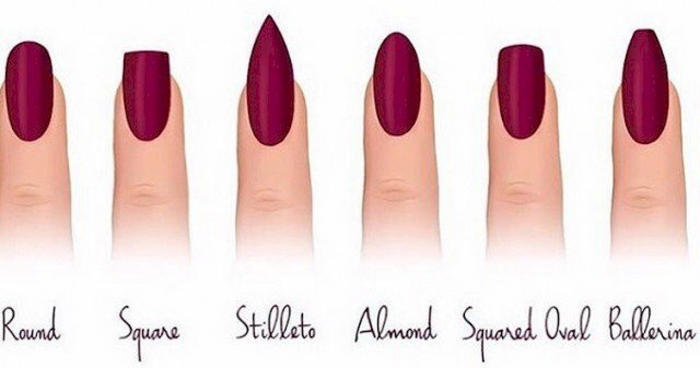 12 Different Nail Shapes To Try For Our Fingertips