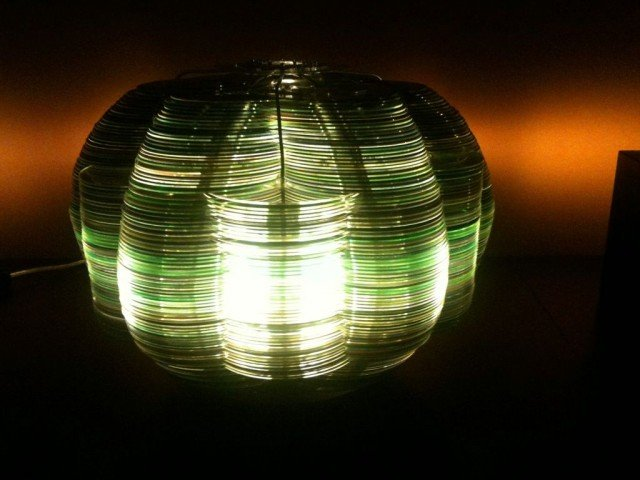DIY CD Lamp from old CDs Tutorial