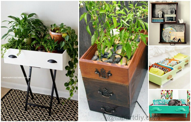 Creative Ways to Recycle Your Old Dresser Drawers