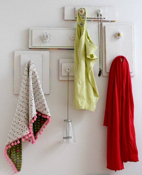 15 Creative Ways to Recycle Your Old Dresser Drawers-Hangers From Old Drawers