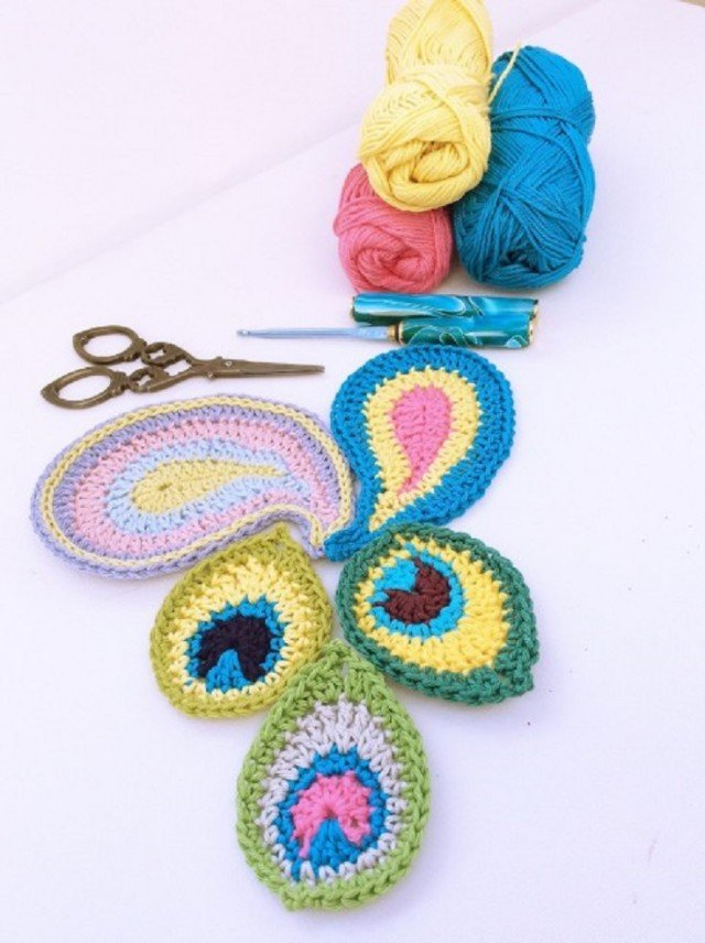 Crochet Peacock Patterns Round Up Video