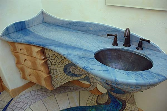 Laying Mosaic Floor Tile Choice Image Modern Flooring Pattern Texture