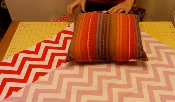 DIY No Sew Pillow Cover Tutorial - Video