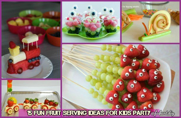 15 Fun Fruit Serving Ideas for Kids Party