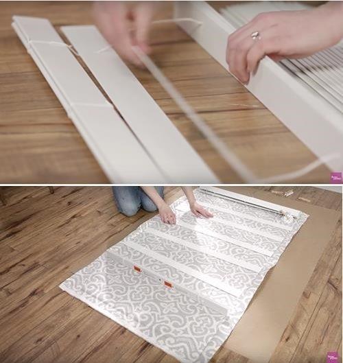DIY Window Blind Roman Shade Video
