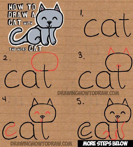 How to Draw with Words-cat