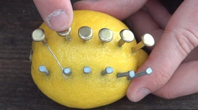 How to Make Fire With Lemon Camping Survival Hack
