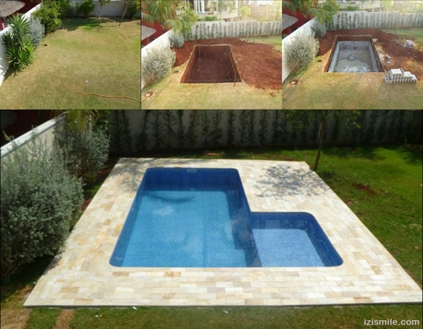 10 Amazing Cinder Block DIY Ideas and Projects-concrete cinder block swimming pool