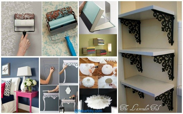 Delightful 10 Low Budget DIY Home Decoration Projects Tutorials