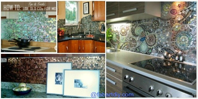 5 DIY Kitchen Backsplashes tutorials