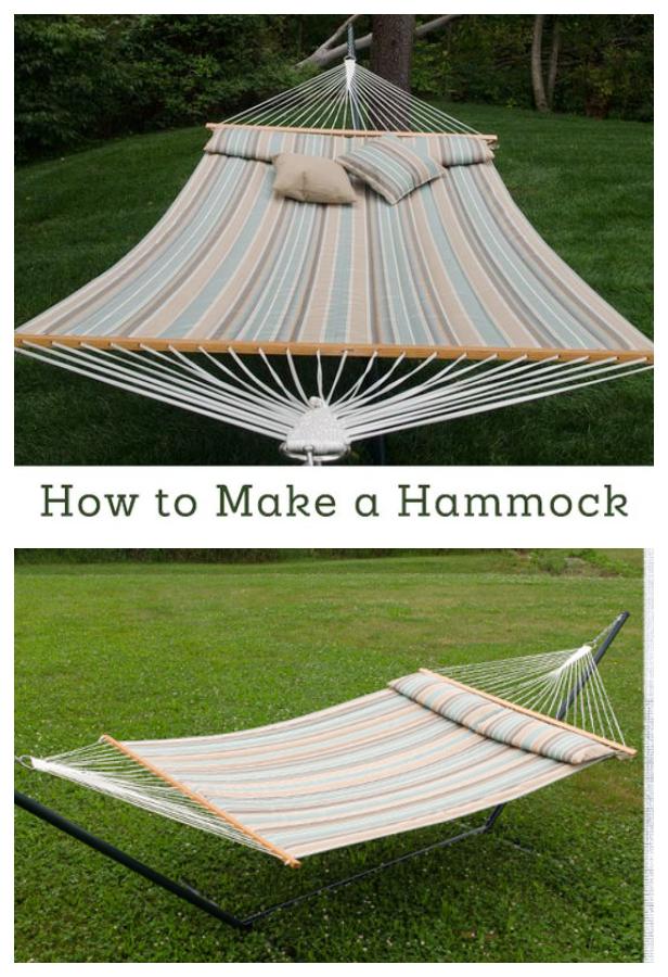 Easy DIY Sunbrella Fabric Hammocks Video Tutorials