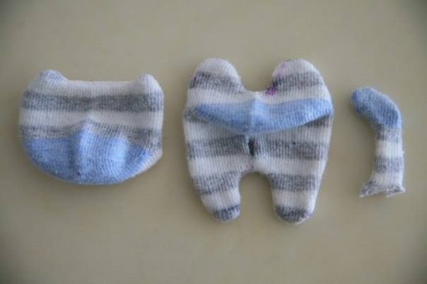 DIY Sock Kitten Sew Pattern